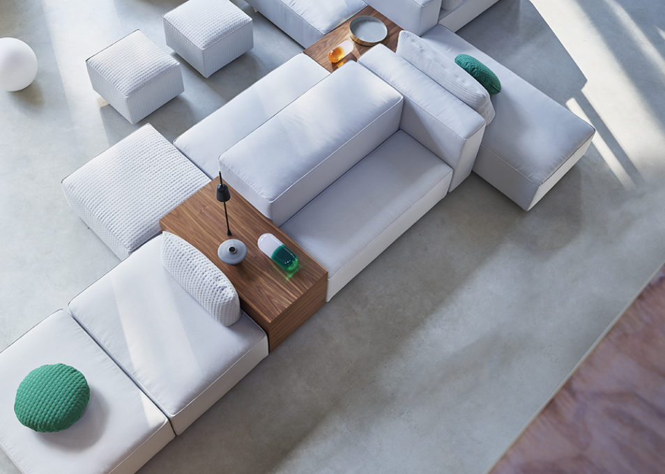 Create your own Domino.18 sofa